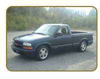 Chevy S10 with NiMh or Lithium Electric Conversion