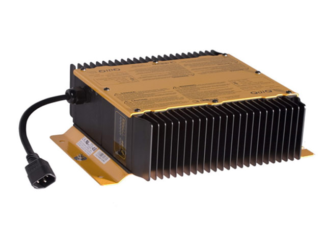An electric battery charger